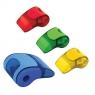 Temperówka z gumką 2w1 - gwizdek (39093PTR) mix kolorów